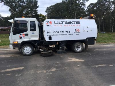 road sweeping sydney ultimate site services