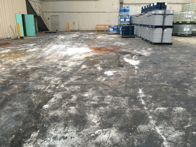 Transport Facility Spill Clean Up