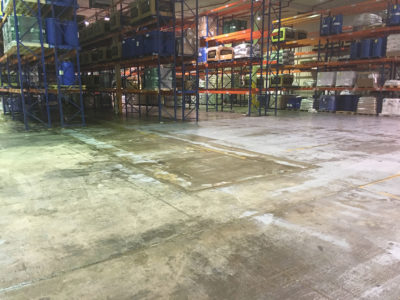 Chemical Warehouse Clean up Wetherill Park