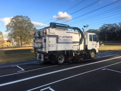 Road Sweeper Ultimate Site Services