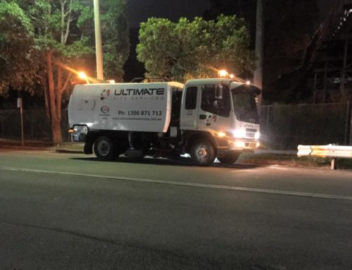 Late Night Street Sweeper