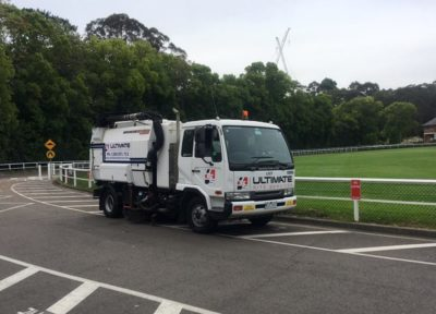 Road sweeper Sydney
